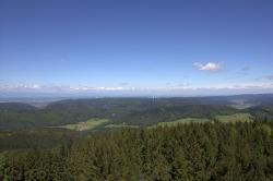 Blick vom Hünersedelturm nach Nordwest