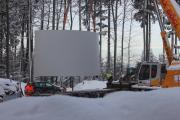 Anlieferung Turmringe Bürgerwindpark Südliche Ortenau